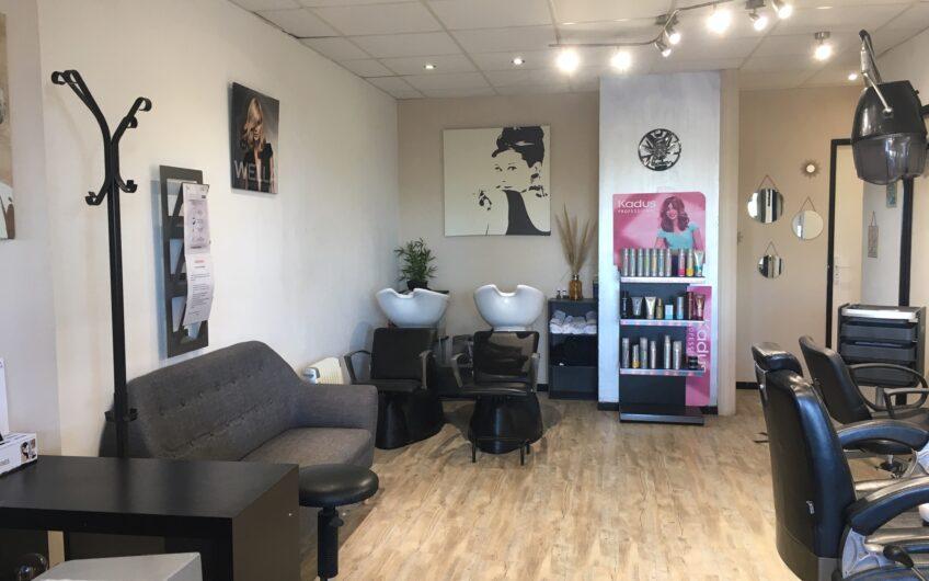 Salon de coiffure en front de mer